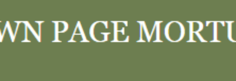Brown-Page Mortuary Inc